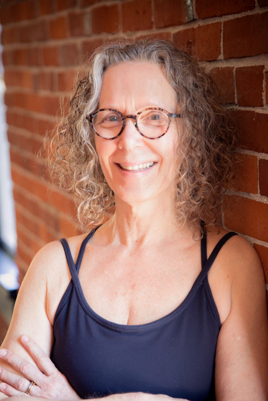 Carol Gray at MamaSpace Yoga