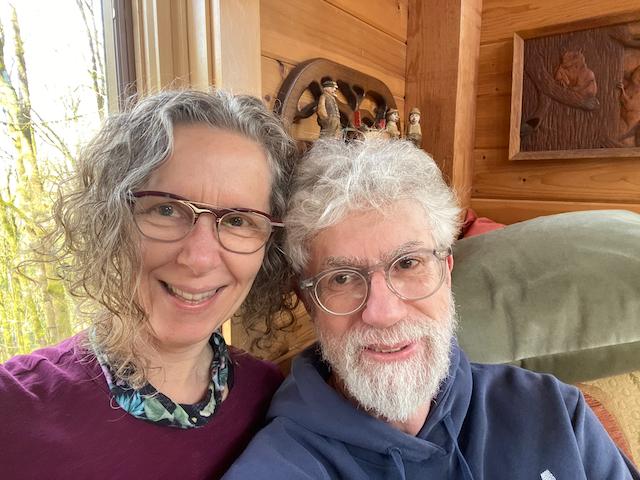 Carol Gray and Steve Mayes Teach Partner Squat at MamaSpace Yoga