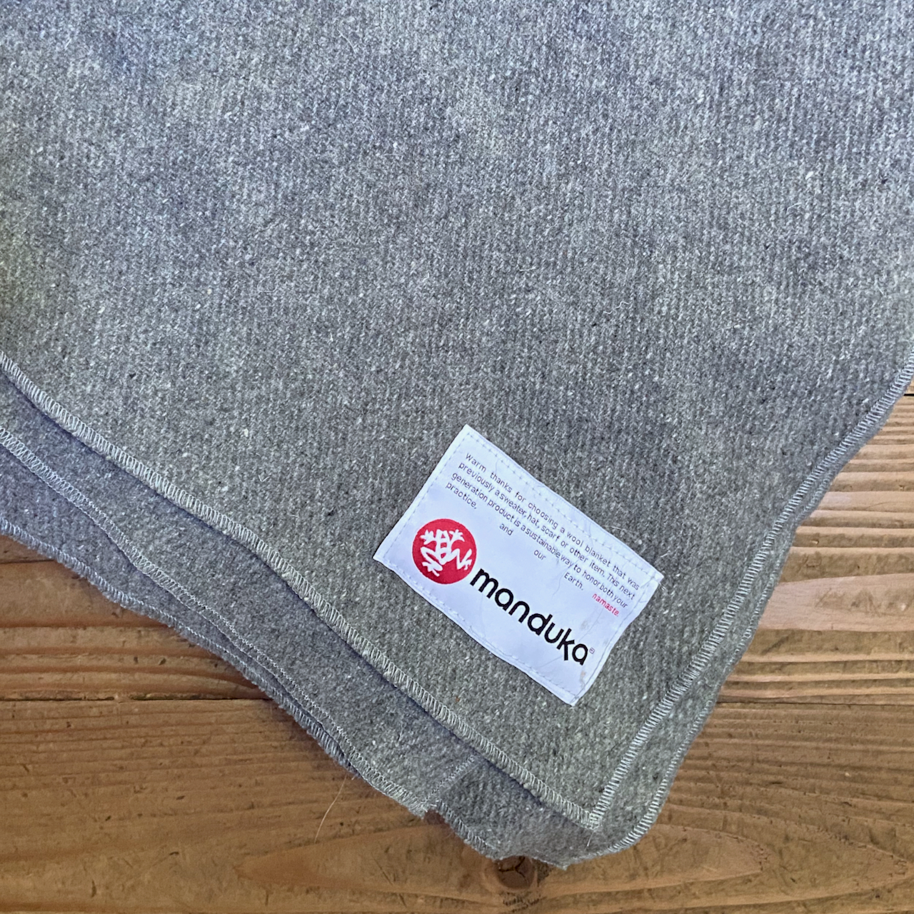 Our Favorite Wool Blanket at MamaSpace Yoga