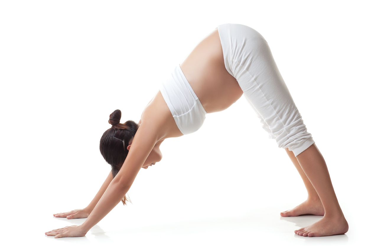Amarylis Fernandez Teaches Inversion Love Prenatal Yoga at MamaSpace Yoga