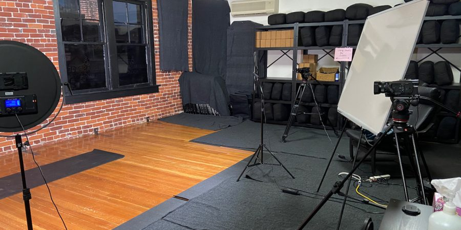 A View of the MamaSpace Yoga Video Studio