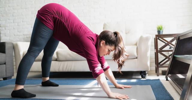 Yoga Inversions During Pregnancy by Carol Gray at MamaSpace Yoga