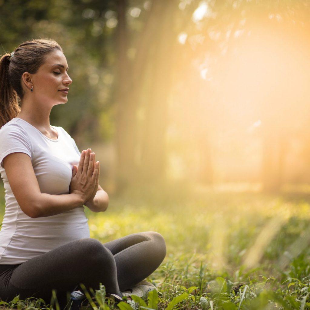 Breath Aewareness at MamaSpace Yoga