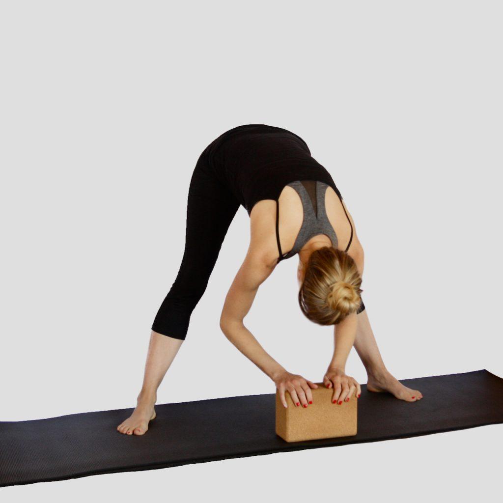 Bringing the Floor Closer With Blocks at MamaSpace Yoga