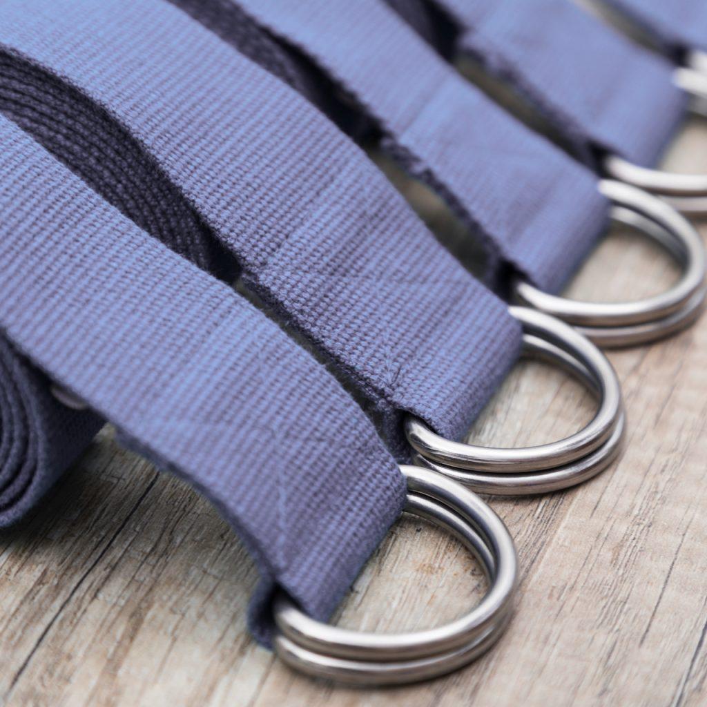 We love yoga straps at MamaSpace Yoga