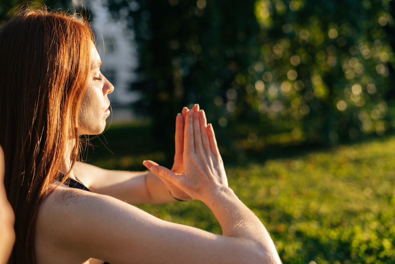 Meditation for Beginners With Katerina Baratta at MamaSpace Yoga