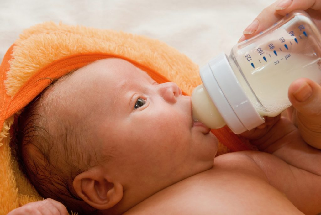 Bottle Nurse Your Baby In More Than One Position by Carol Gray at MamaSpace Yoga