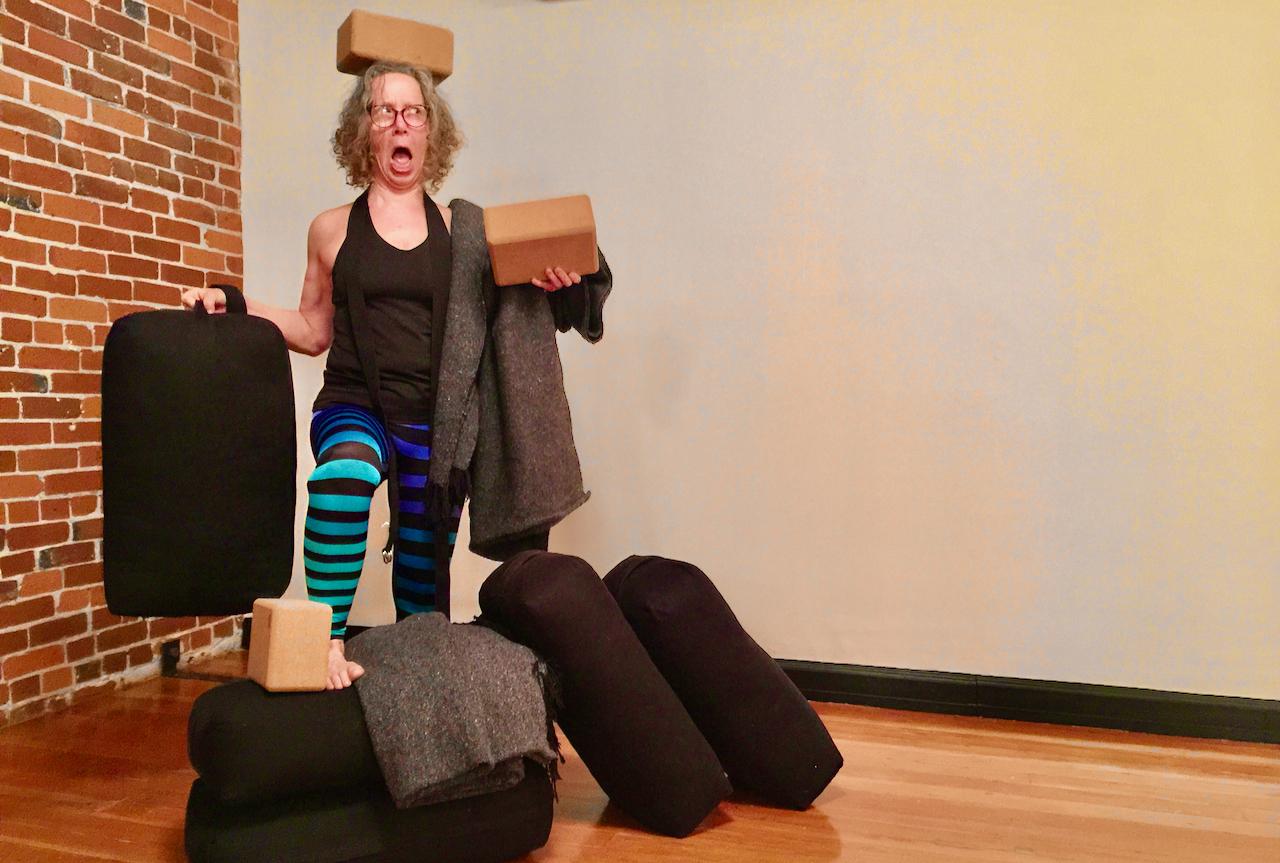 Why You Need Props for Prenatal Yoga With Carol Gray at MamaSpace Yoga